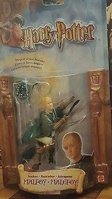 Seeker Malfoy Quidditch Action Figure. Harry Potter Mattel 2002