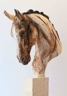 Tree Sculpture Art Clay 32 New Ideas Art Sculpture En Bois, Horse Sculpture, Animal Sculptures, Sculpture Ideas, Afrique Art, Wood Carving Art, Driftwood Art, Wooden Art, Horse Art