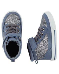 OshKosh Sparkle High-Top sneakers