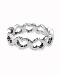 Avon Sterling Silver 925 American Flag Heart Enameled Toe Ring