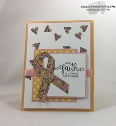 Stampin' Up! Ribbon of Courage Sneak Peek for the Amy's Inkin' Krew Team Blog Hop! | Stamps – n - Lingers