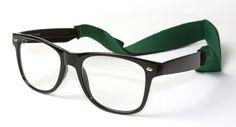 Buddy Holly Wayfarer Style Glasses W/ Free Eyewear Cord Private Island. $5.95