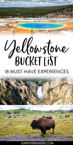 Yellowstone National Park: best things to do, with advice on how to avoid the crowds, spot wildlife, and have an amazing experience. #yellowstone #nationalpark #grandprismaticspring #bucketlist