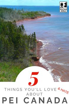 The Best & Worst of Visiting Prince Edward Island, Canada. From the clothes staining red beaches to the fun of visiting Anne of Green Gables. Alberta Canada, Vancouver, Pei Canada, Visit Canada, Travel Guides, Travel Tips, Prince Edward Island, Canada Travel, Beautiful Islands