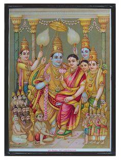 Mysore Painting, Kerala Mural Painting, Tanjore Painting, Ravivarma Paintings, Shri Ram Wallpaper, Raja Ravi Varma, Lord Photo, Lord Rama Images, Sri Rama