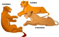 Three Daughters by on DeviantArt Pride Rock, Puppy Drawing, Lion King Art, The Future Of Us, Three Daughters, I Love Him, Cubs, Lions, Cool Art