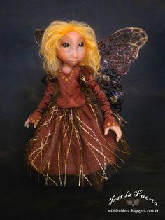 Fayette. Fairy. Art doll. by TraslaPuerta on Etsy