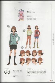 Digimon adventure tri - sora takenouchi