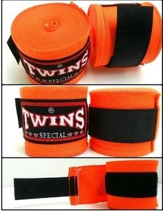 Twins Special Muay Thai Boxing Handwraps Orange 33oz *** You can find out more details at the link of the image. (This is an affiliate link)
