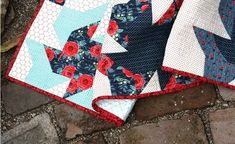 Parade of Projects with Hedge Rose Fabrics – Kelly Panacci Pinwheel Quilt Pattern, Quilt Patterns, Bird Design, Rose Design, Charm Quilt, Brown Bird, Cute Pillows, Extra Fabric, Southern Charm