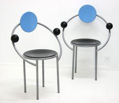 memphis, michele de lucchi, first chairs