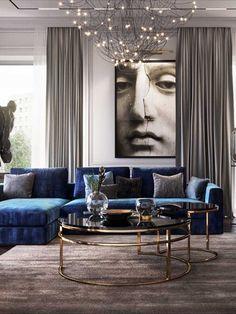 Living Room Modern, Home Living Room, Interior Design Living Room, Living Room Designs, Living Room Decor, Luxury Home Decor, Living Room Inspiration, Luxury Living, Check