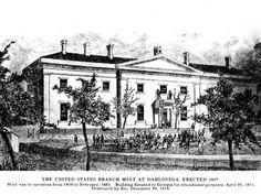 Gold Rush | New Georgia Encyclopedia Mint built in Dahlonega 1837
