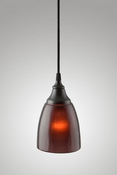 Metro Lighting — River Pendant, Plum