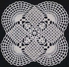 Advanced Embroidery Designs - FSL Crochet Sunrise Doily