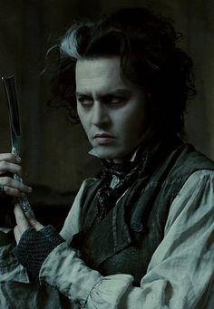 Johnny Depp Characters, Johnny Depp Movies, Sweeney Todd, Tim Burton Johnny Depp, Mrs Lovett, Johnny Depp Wallpaper, Johny Depp, Fleet Street, Edward Scissorhands