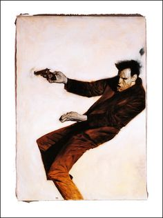 The Dark Tower The Drawing of the Three. Dark Tower Art, The Dark Tower, How To Draw Painting, Artist Painting, Norman Rockwell Paintings, Academic Art, Great Paintings, National Portrait Gallery, Comic Book Artists