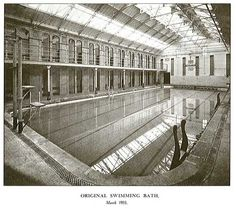 Gilkes street baths Middlesbrough-Where I learned to swim!
