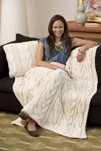 Twisted Taffy Throw & Pillow