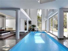 Indoor pool in Sintra, Portugal