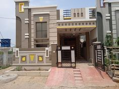House Outer Design, House Balcony Design, House Front Wall Design, Single Floor House Design, Village House Design, Duplex House Design, Small House Design, Indian House Exterior Design, Classic House Exterior