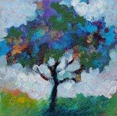 "Daily+Paintworks+-+""Reaching+Higher""+-+Original+Fine+Art+for+Sale+-+©+Kerri+Blackman"