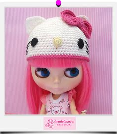 Hat Pink Hello Kitty by tatadelacasa {INSPIRATION ONLY, NO PATTERN}