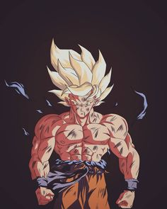"""Diego Gonzalez on Instagram: """"Proceso de digitalización a color del genga de @artegavino quien realizó un espectacular Goku ssj . Sigan su cuenta que tiene geniales…"""""""