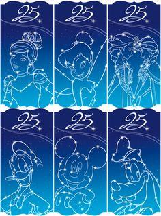 Plus que quelques semaines…  … avant de découvrir les surprises que vous réserve le 25e Anniversaire de Disneyland Paris. [[MORE]]  Nous vous dévoilons en avant-première ces visuels d'inspiration de...