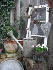 Small garden decoration - living and garden Photo