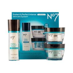 Boots No7 - Protect & Perfect Skincare System (they have on Amazon, Target, and Ulta)