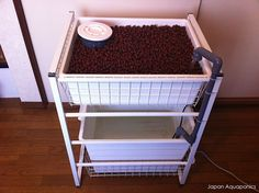 How to Make an Indoor Aquaponics System. Aquaponics is a method by which you grow plants and nurture aquatic animals together in a system that recirculates the nutrients produced, to the benefit of both plants and animals. The aquaponics. Aquaponics Greenhouse, Backyard Aquaponics, Aquaponics Plants, Small Greenhouse, Aquaponics System, Hydroponic Gardening, Organic Gardening, Greenhouse Ideas, Backyard Greenhouse