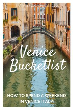 All the very best things to do in Venice Italy for your 2021 bucket list! This is the perfect guide to spending a weekend in Venice, find out the top places to visit and discover new things to add to your Venice bucket list | things to do in Venice Italy bucket lists | bucketlist Venice | Venice Italy Travel #travel #venice #italy