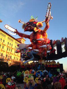 Carnival of Viareggio 2014! #carnevale di Viareggio 2014! #Viareggio is a small town on the seaside, close to #Lucca and #Pisa. It is famous for its beaches and for the fantastic carnival! (pics of Andrea Romanelli for Hotel La Pace - Pisa)
