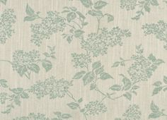 tejido de lino estampado lilac blanco eau de nil