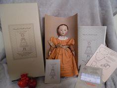 "Gail Wilson Izannah inspired 10"" doll UFDC REG 15 2011 MIB Dress, patterns etc #Unbranded"