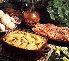ovenschotel om je vingers bij af te likken. De andijvie schotel wordt gemaakt met gehakt, aardappelschijfjes, eieren,knoflook , spekjes en heerlijke verse...