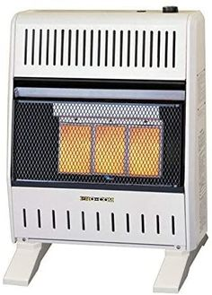 ProCom MNSD3TPA-BB Dual Fuel Ventless Infrared Gas Space Heater, 20,000 BTU, White Best Space Heater, Indoor Electric Grill, Dust Extractor, White Appliances, Canister Vacuum, Wall Fans, Hepa Filter, Grey Fabric, Bb