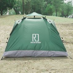 Instant Pop Up Camping Tent Family 2-4 Person Auto Tent Waterproof – Reactive Outdoor Pop Up Camping Tent, Best Tents For Camping, Backyard Camping, Outdoor Camping, Outdoor Gear, Pickup Camping, Camping Items, Camping Stuff, Small Tent