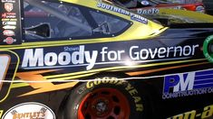 NASCAR  Shawn Moody unveils new advertisement on NASCAR vehicle -  Republican candidate Shawn Moody landed an advertising spot on Matt DiBenedettos race car. (WGME)  ARUNDEL (WGME)  A Maine gubernatorial candidate will be making the rounds at an upcoming NASCAR event.  Republican candidate Shawn Moody landed an advertising spot on Matt DiBenedettos race car.  DiBenedetto will be racing in Sundays New Hampshire 301 in the Monster Energy NASCAR Cup Series.  Mixing politics and NASCAR at the…