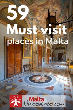 59 Best Places to Visit and Tourist Attractions in Malta and Gozo From museums and other attractions, to vantage points and the hidden gems of Valletta, there's good choice when it comes to points of interest in Malta: www. Cool Places To Visit, Places To Travel, Travel Destinations, Malta Holiday, Malta Travel Guide, Malta Gozo, Malta Island, Future Travel, European Travel