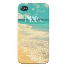 Tropical Paradise 4 - iPhone Case Covers For iPhone 4 #zazzle #iphone #iphonecase