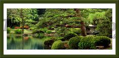 Adesivi Murali Tipico giardino Nipon