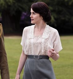 While Downton Abbey is full of eye candy—from the lavish homes to the fashion—we're most in awe of Lady Mary Crawley's ethereal style and elegance. The way Michelle Dockery wears her character's empire-waist gowns, cloche hats and lacy tops makes us wish we lived in bygone times.