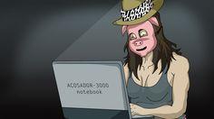 Drossrotzank acosador anonimato