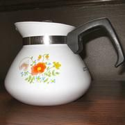 early 1960's tea kettle. My Grandma has something exactly like this. I think it's really cool.