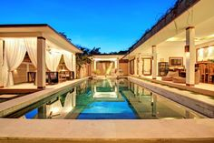 Check out this awesome listing on Airbnb: SEMINYAK Superb Villa - Jacuzzi+Pool bar - 10 pax - Villas for Rent in North Kuta