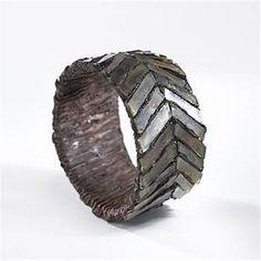 Line Vautrin chevron bracelet