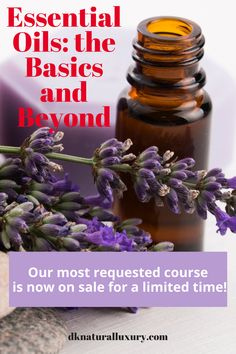 Dive into learning about the most used essential oils and discover the power that they have. You'll learn which oils work best for specific concerns, when and how to use them. With 8 sections and over 60 lessons, you'll be ready to safely experience a more natural lifestyle for your health and wellness. Limited time bonuses available NOW!