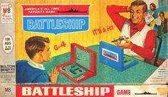 Original Vintage 1967 Battleship Board Game Milton Bradley 4730 for sale online Old Board Games, Vintage Board Games, Games Box, Games To Play, Card Games, Fun Games, Game Boards, Table Games, Retro Toys